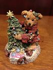 BOYDS BEARS AND FRIENDS ELLIOT & THE TREE  FIGURINE NEW