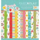 Photo Play Double Sided Paper Pad 6X6 24 Pkg Summer Bucket List 814948025663