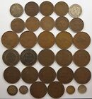 Best Offer! Australia coin lot, Pennies, Half-Pennies and more, 1910's to 1940's