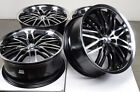 18 5x120 Polished Wheels Fits BMW 325 128 135 318 3 Series Land Rover X3 X5 Rims