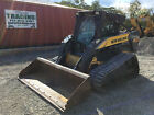 2006 New Holland C185 Tracked Skid Steer Loader w Cab