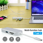 7 in 1 USB C Hub Type C Card Reader Adapter 4K HDMI USB 30 PD Charging For Mac