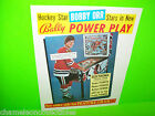 BOBBY ORR Power Play By BALLY 1978 ORIGINAL PINBALL MACHINE Promo Sales FLYER