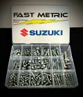 Fastmetric 303pc Bolt Kit Suzuki RM60 RM65 RM80 RM85 RM125 RM250 ENGINE, PLASTIC