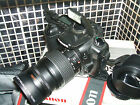 Canon EOS 20D 82 MP Digital SLR Camera +THREE LENSES