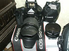 Canon EOS 450D 122 MP Digital SLR Camera Black WITH THREE LENSES