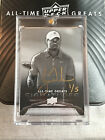 Tiger Woods Autograph *Rare 1 of only 5 Upper Deck All Time Greats Auto*