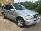 LARGER PHOTOS: 2003 MERCEDES ML350 AUTO SILVER fully loaded pdc sensors elec everything