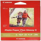 Canon Ink Photo Paper Plus Glossy II 4 x 6 100 Sheets 1432C006