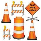 Construction Road Crew Cutout Set 6 Pack Boy Birthday Prop Party Wall Decoration