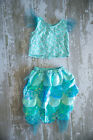 Old Navy Infant Baby Girls 2 Piece Mermaid Halloween Costume 12 24 Month
