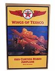 Wings of Texaco 6th in the Series 1929 Curtiss Robin Airplane Diecast Metal