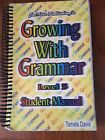 Growing With Grammar 5 Student Manual