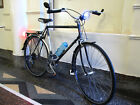 Fuji Sagres 14spd Bicycle, Touring/ Commuter; carrier Mirrors lights GRAY BLUE