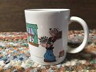 1980 Popeye Christmas mug W/ Olive Oyl, Brutus, Wimpy, Sweet Pea, and the Jeep