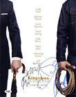 KINGSMAN Gold Circle CAST SIGNED 11x14 Photo +4 FULL LETTER PSA DNA AUTOGRAPHED