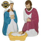 FREE SHIPPING new 3 Nativity Set Light Up Christmas Indoor Outdoor Jesus CMS