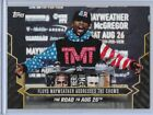 2017 Topps Money Mayweather Addresses Crowd #3 On Demand from Set 6 McGregor