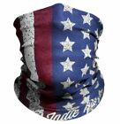 Red White  Blue Old Glory American Flag Outdoor Face Mask By IndieRidge