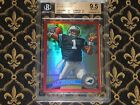 2011 Topps Chrome Cam Newton Red Refractor RC BGS 9.5 Highest subs pop 1 5 16 25