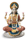 LLADRO Porcelain : GODDESS SRI LAKSHMI 01009229 Height: 8¾