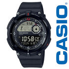 Casio Twin Sensor Watch, Compass, Thermometer, 200 Meter WR,5 Alarms, SGW600H-1B