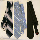 Mens Neck Tie LOT Johnny Carson  Salvatori Designers  3 VTG 3 wide Ties