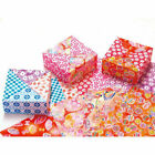 JAPANESE ORIGAMI PAPER CHIYOGAMI 100 pieces 10 Designs 15x15cm Made in Japan