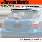 Painted Trunk Spoiler For 09+ Toyota Matrix Clear Coated 1F7 CLASSIC SILVER MET