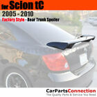 Painted ABS Rear Trunk Spoiler For 05 10 Scion TC 1F7 CLASSIC SILVER METALLIC