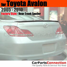 Painted Trunk Spoiler For 2005 2010 Toyota Avalon 1F7 CLASSIC SILVER METALLIC