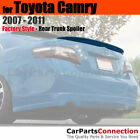 Painted Trunk Spoiler For 07 11 Toyota Camry Sedan 1F7 CLASSIC SILVER METALLIC