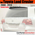 Painted Trunk Spoiler For 08 13 Toyota Land Crusier 1F7 CLASSIC SILVER METALLIC