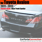Painted Sedan Trunk Spoiler For 11 12 Toyota Avalon 1F7 CLASSIC SILVER METALLIC