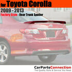 Painted Trunk Spoiler For 09 13 Toyota Corolla 1F7 CLASSIC SILVER METALLIC
