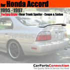 Painted Trunk Spoiler For 95-97 Honda Accord Coupe and Sedan 5S PLATINUM SILVER