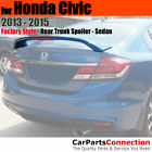 Painted ABS Trunk Spoiler For 13-15 Honda Civic Si Sedan NH700M ALABASTER SILVER