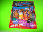 PARTY ANIMAL By BALLY 1987 ORIGINAL PINBALL MACHINE SALES FLYER BROCHURE
