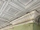 Reclaimed Antique Tin 2 X 4 Art Deco Salvage Pressed Ceiling Tiles