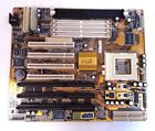 Mainboard Pentium MMX M571 Socket 7 Motherboard with Manual and Drivers CD