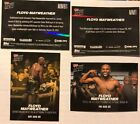 2017 Topps Now Mayweather vs. McGregor Trading Cards 18