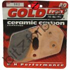 Brake Pads Goldfren Rear Harley Davidson XLS 1000 Low Rider 1978