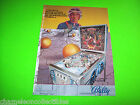 EMBRYON By Bally 1981 Original PINBALL MACHINE Prome Sales FLYER w/ EDGE WEAR