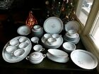 61 NORITAKE FINE CHINA LILYBELL #5556 SERVING PLATTER BOWL DINNER PLATES  JAPAN