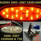 2007 Suzuki GSX-R 750 Clear Flush Mount LED Front L/R Turn Signals 1 Pair TS09
