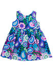 New Kellys Kids Navy Paisley Jumper Dress 12 months NIP