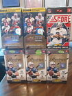 Factory Sealed 6 Box Lot - 2012 Prestige 2013 UD 2011 Score Football Cards