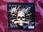 Static X Cannibal cd comes with signed booklet Wayne Static RARE