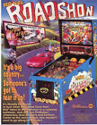 Williams ROAD SHOW 1994 Original NOS Pinball Machine Promo Sales Flyer Roadshow