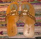 Go Fish shells and stone sandals Size 10